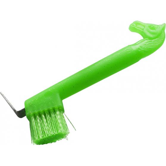 Cure-pied brosse à tête fluo pailleté