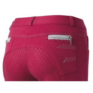 Pantalon EQUITHÈME Comète Fond Silicone - Femme