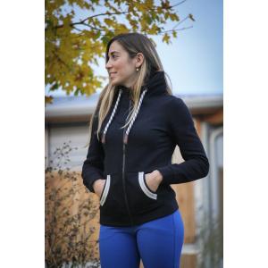 Sweat zippé Pénélope Comète - Femme