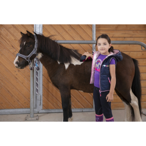 Equi-Kids Jade Reversible sleeveless jacket - Children