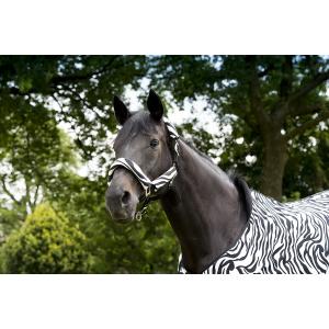 """EQUITHÈME """"Zebra"""" halster set"""