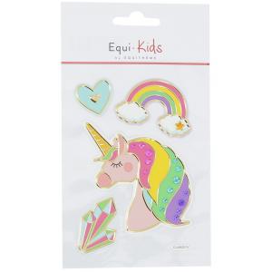 Stickers Equi-Kids Relief Licorne + Strass