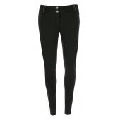 Pantalon softshell EQUITHÈME Kitzbuhl fond silicone - Femme