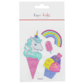 Stickers Equi-Kids Relief Ice