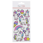 Stickers Equi-Kids Relief Licorne Star
