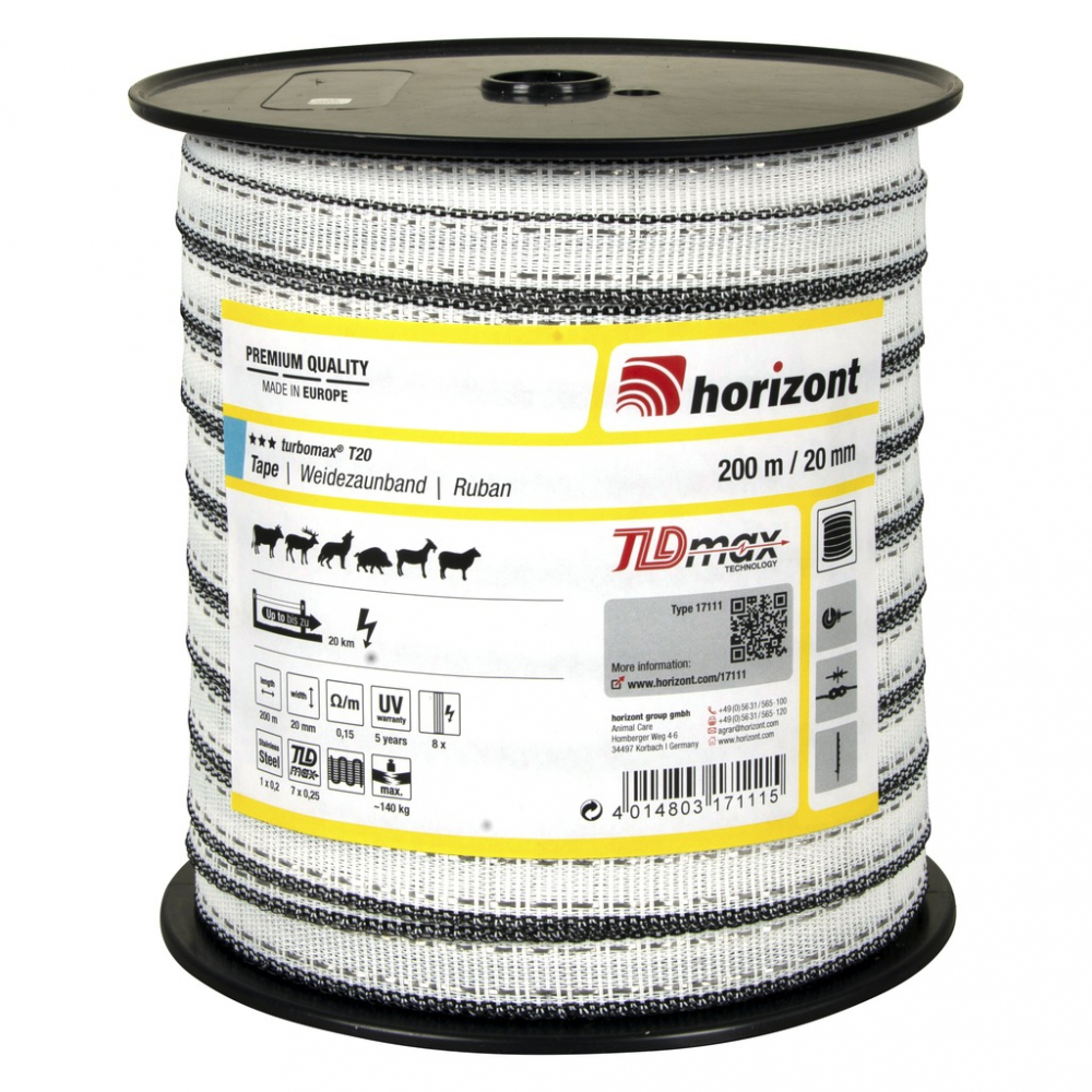Ruban Horizont Turbomax T20 200 m