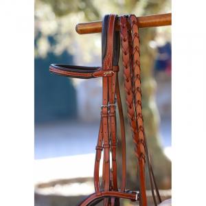Pénélope US braided reins
