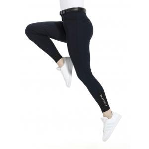 Pantalon EQUITHÈME Safir fond silicone - Femme