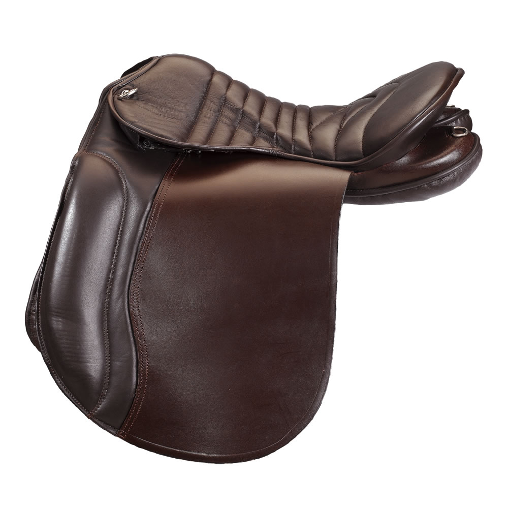 cheval de trait selle
